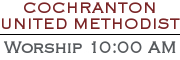 Cochranton United Methodist Church